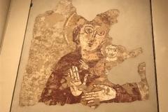Jeden z mnoha obrazů matky Boží, která byla patronkou katedrály ve Faras